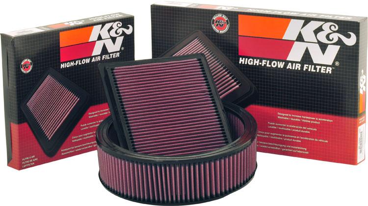 K&N filters onderdelen
